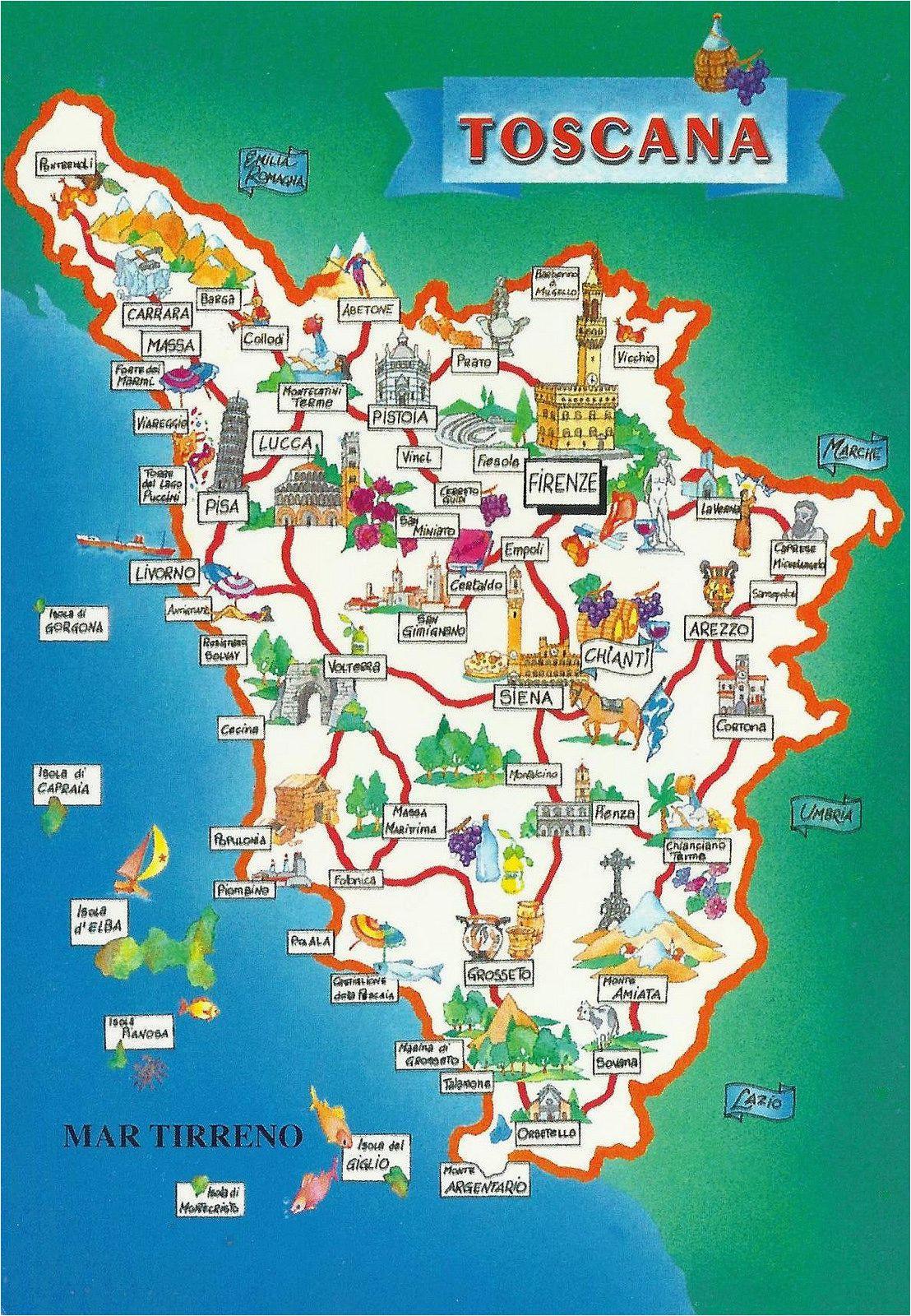 Tuscany On Italy Map toscana Map Italy Map Of Tuscany Italy Tuscany Map toscana Italy