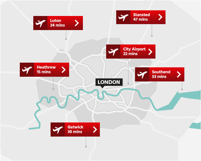Airports In London England Map London Airports Map Airport Visitlondon Com