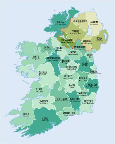 Buy Map Of Ireland List Of Monastic Houses In Ireland Wikipedia