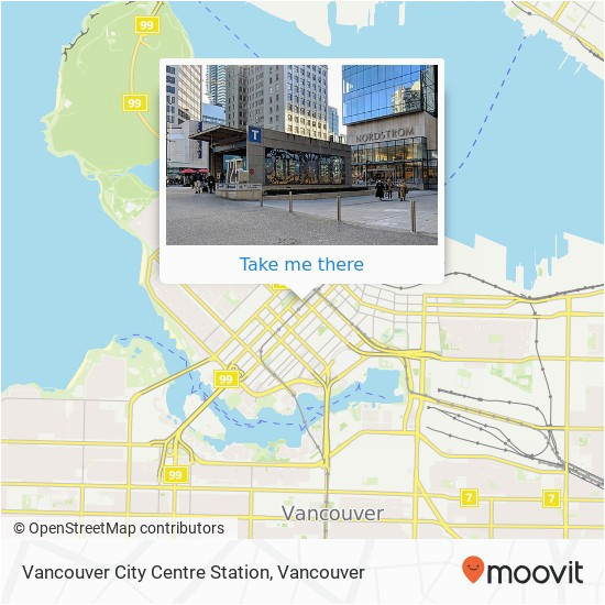 Canada Line Station Map How to Get to Vancouver City Centre Station In Vancouver by Bus or