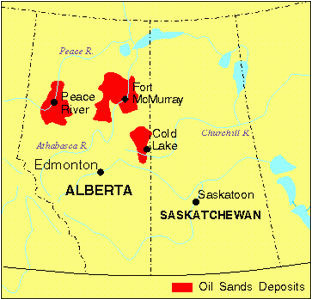 Canada Oil Sands Map Pipelines In Canada the Canadian Encyclopedia