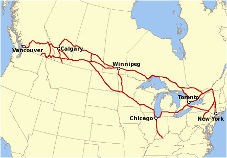 Canada Train Map Canadian Pacific Railway Wikipedia