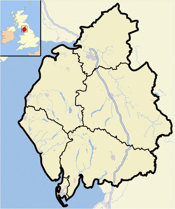Cumbria On Map Of England Cumbria Familypedia Fandom Powered by Wikia