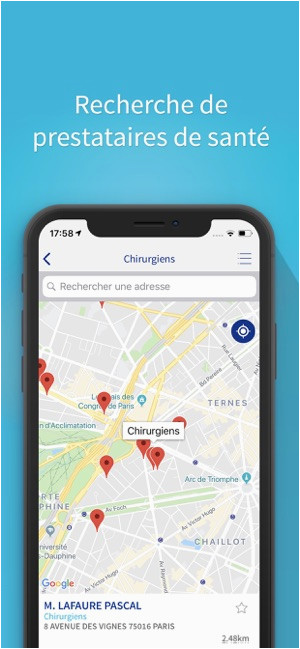 Decathlon France Map Henner Im App Store