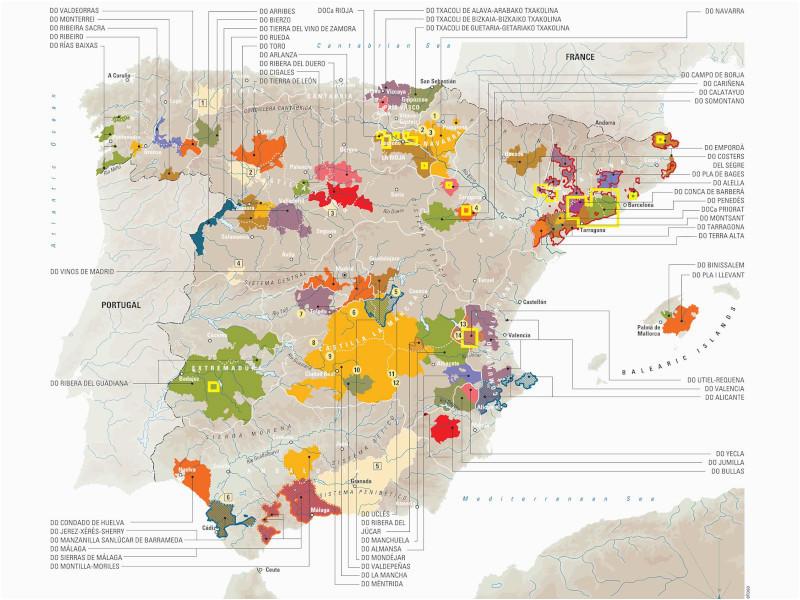 Ebro Valley Spain Map Spain S Wine 101