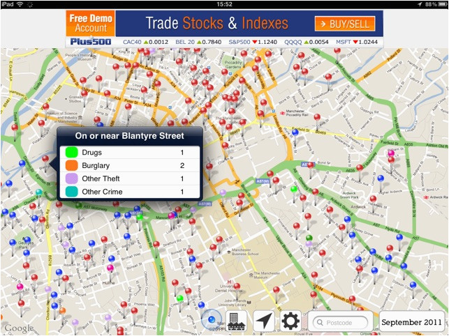 England Crime Map Crime Map England Wales On the App Store