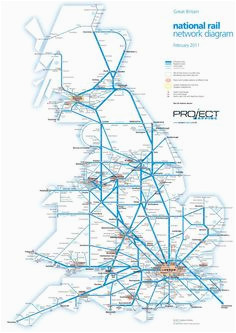 England Trains Map 48 Best Railway Maps Of Britain Images In 2019 Map Of Britain