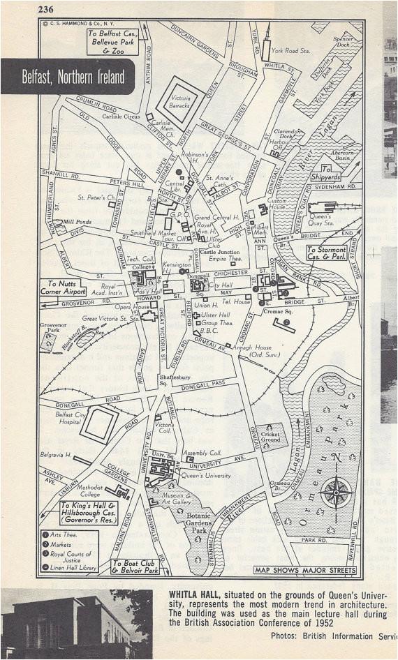 Google Maps Belfast northern Ireland Belfast northern Ireland Map City Map Street Map 1950s Europe