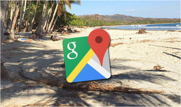 Google Maps Ireland Street View Ireland Google Maps Street View Bikini Woman In Optical Illusion On Costa