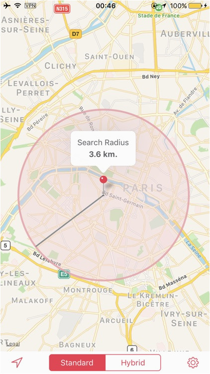 Google Maps Stade De France Radius Maps by Truewhoo Network Technology