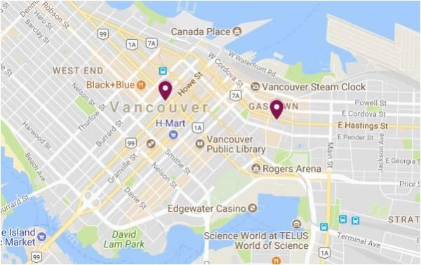 Google Maps Vancouver island Bc Canada top 10 Punto Medio Noticias Vancouver Canada Map Google