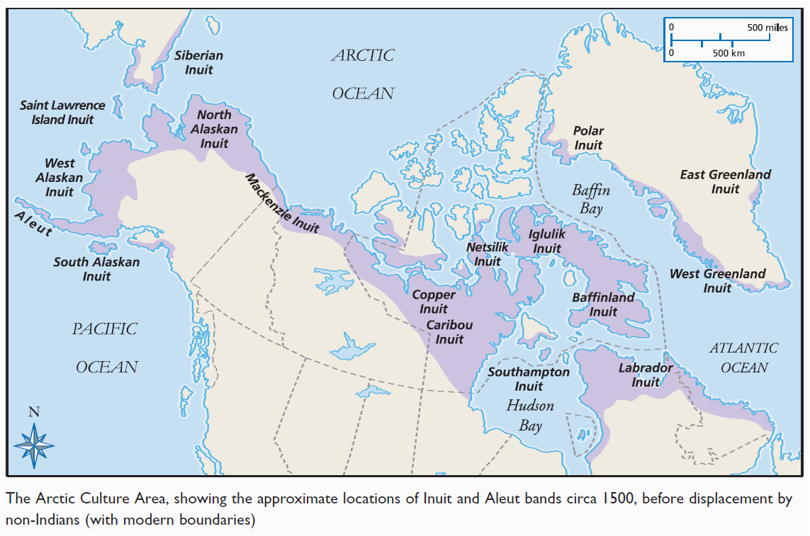 Inuit Canada Map the People Of the Canadian Arctic are Known as the Inuit