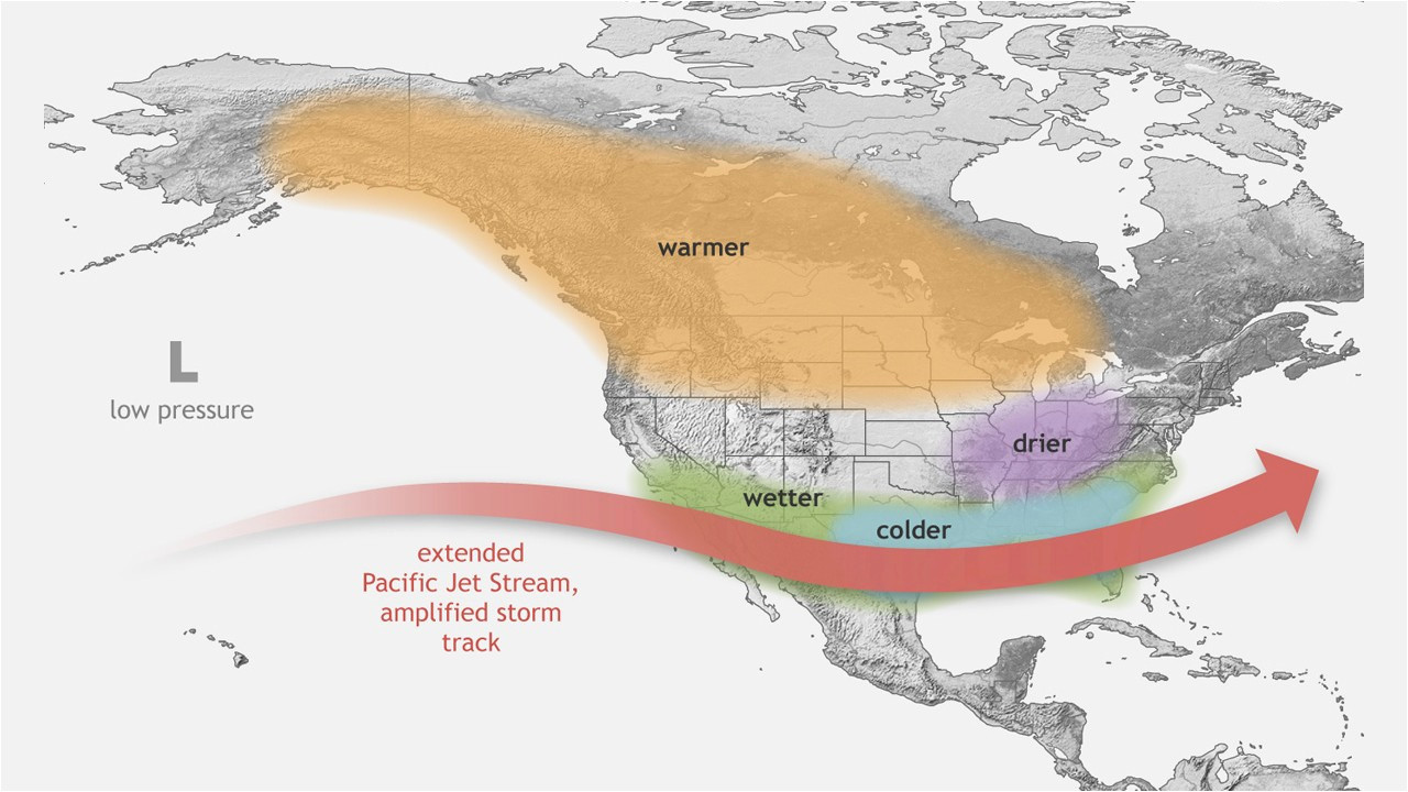 Jetstream Map Canada El Nia O Has Ended Here S What that Means for Colorado and Our