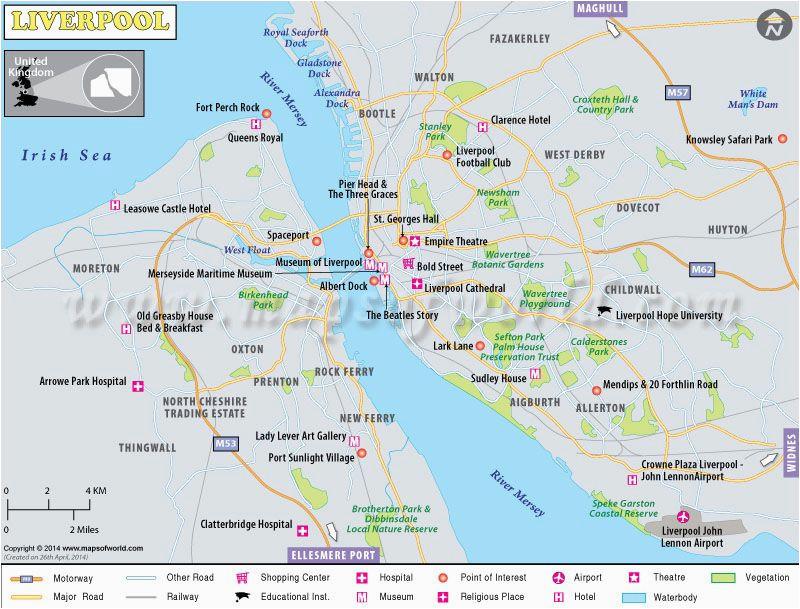 Liverpool On Map Of England Liverpool Avinash Liverpool Map Liverpool City Liverpool