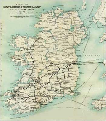 Mallow Ireland Map the Sunny Side Of Ireland John O Mahony and R Lloyd Praeger