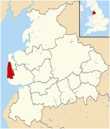 Map Of Blackpool England Blackpool Wikipedia