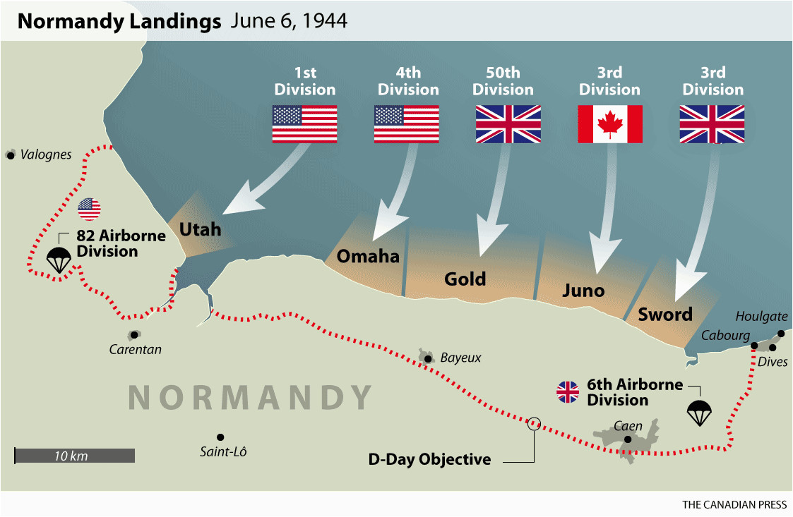 Map Of Caen France D Day normandy Landings Map Wwii Europe 1944 D Day