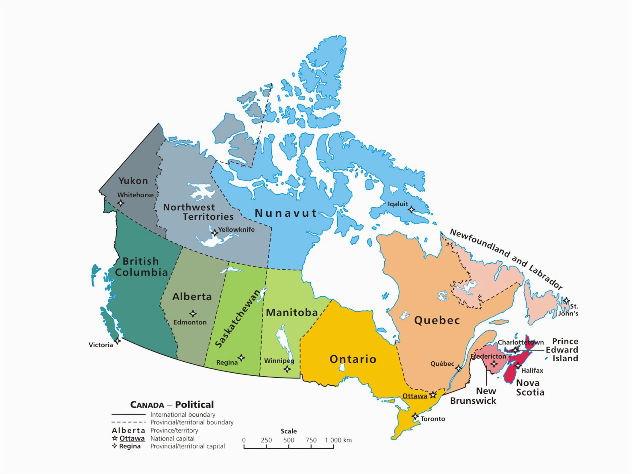 Map Of Canada and Usa with Provinces and States Canadian Provinces and the Confederation