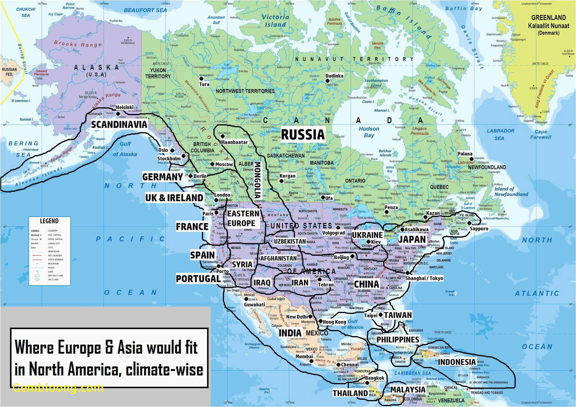 Map Of Canada with Rivers River Map Of oregon California River Map Us Canada Map New I Pinimg