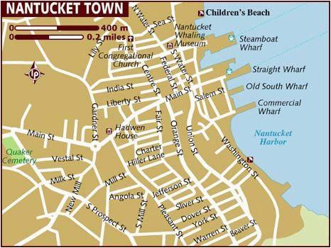 Map Of England Beaches Map Of Nantucket Massachusetts New England Maps