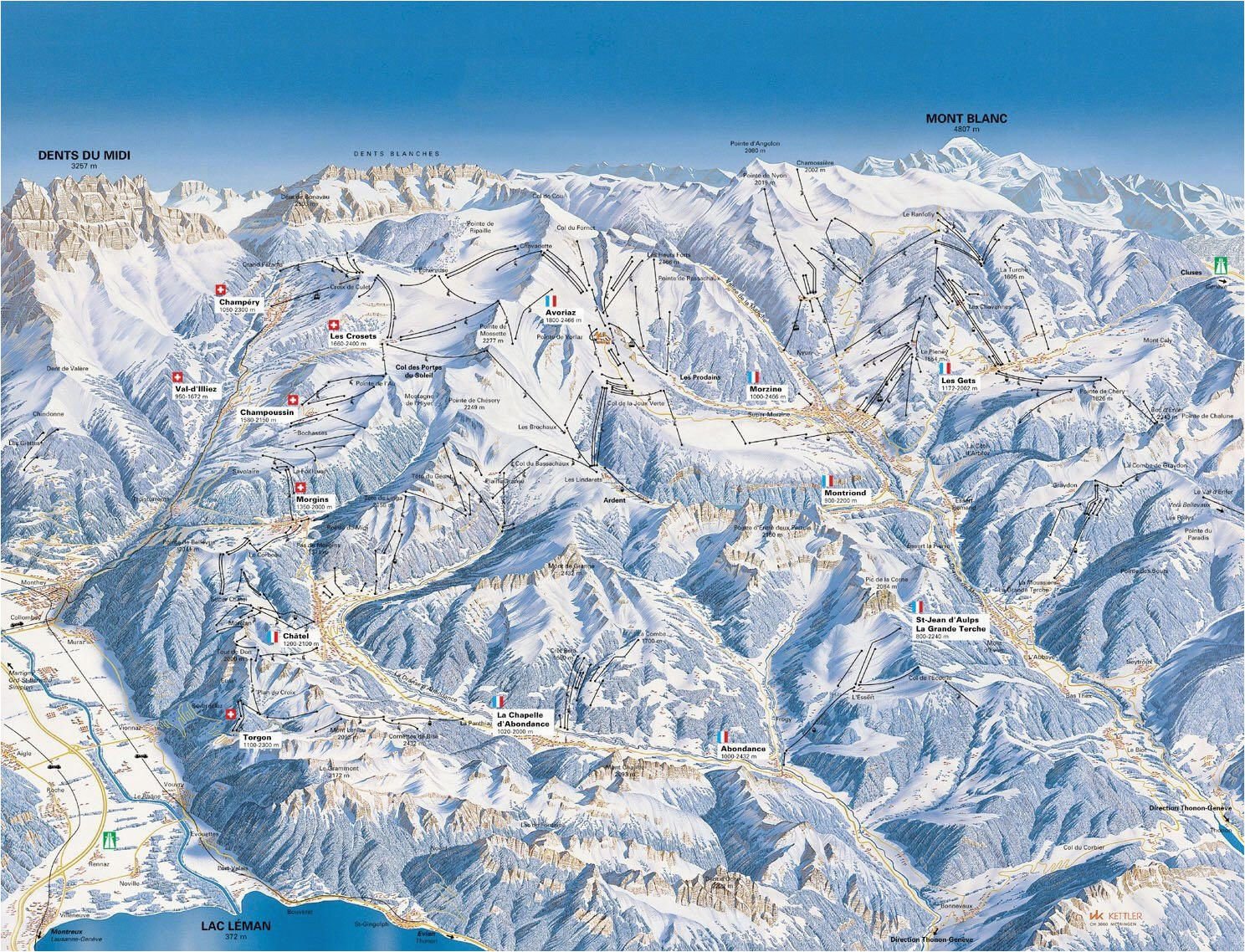 Map Of France Alps French Alps Map France Map Map Of French Alps where to Visit