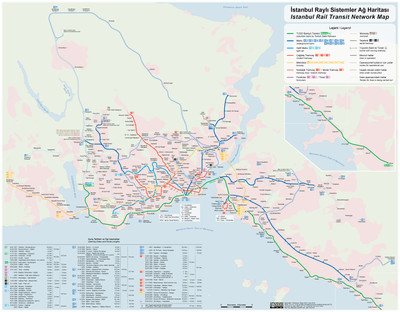 Map Of France Rail System Public Transport In istanbul Wikipedia