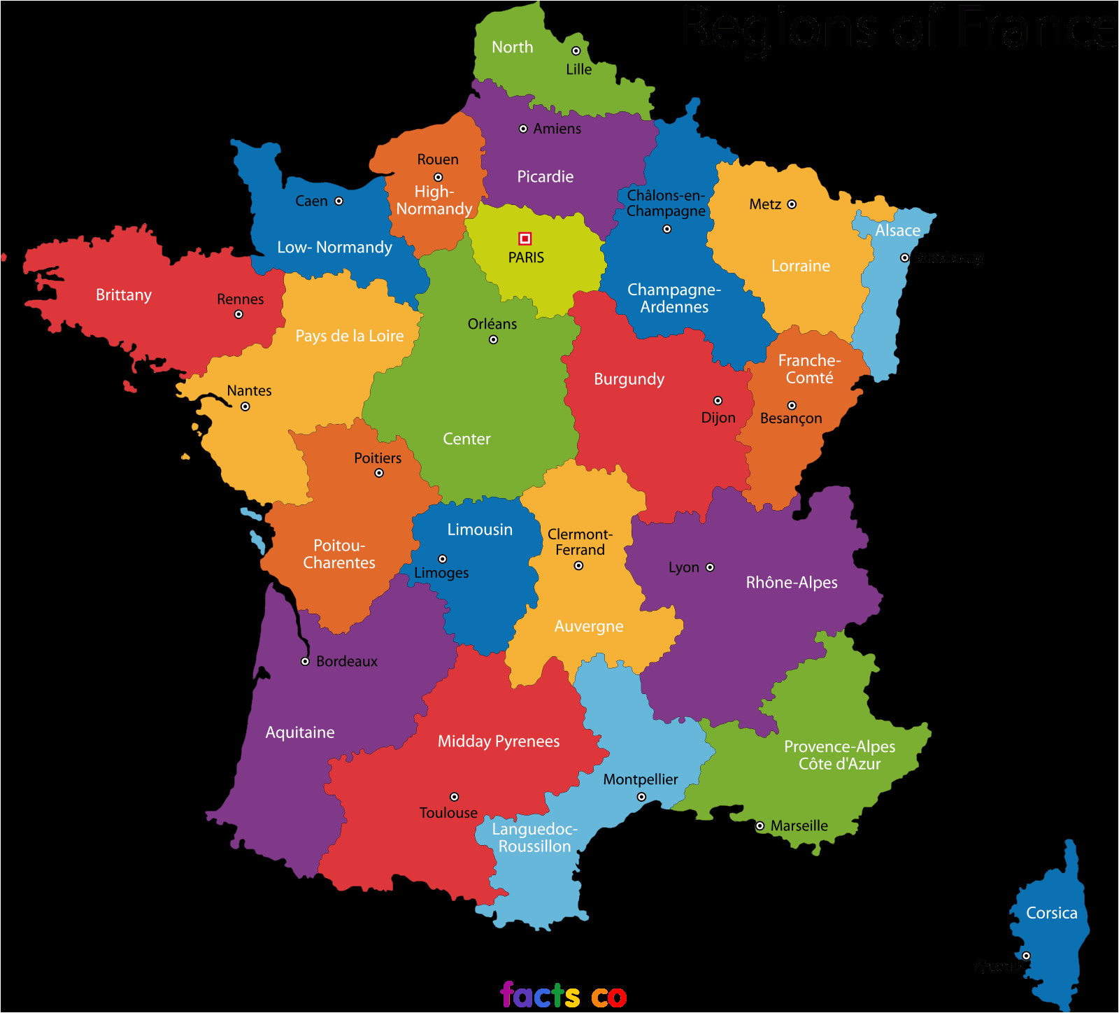 Map Of France towns Pin by Ray Xinapray Ray On Travel France France Map France
