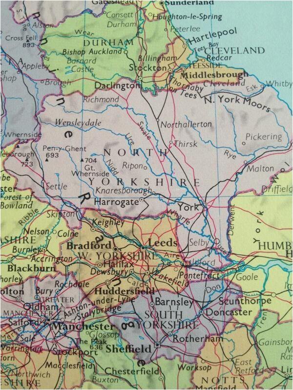 Map Of Harrogate England Eleanorfaynicholson On In 2019 Beautiful England south
