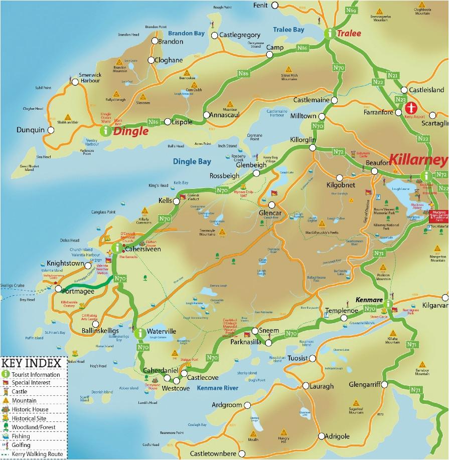 Map Of Killarney Ireland Killarney Map Compressportnederland
