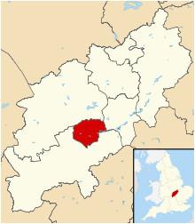Map Of northamptonshire England northampton Wikipedia