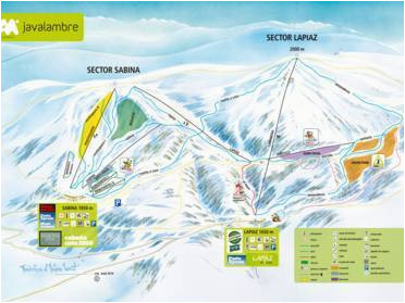 Map Of Ski Resorts France Ski Resorts Teruel Skiing In the Province Of Teruel