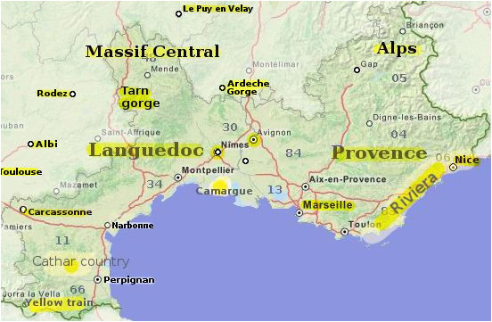 Map Of southern France with Cities and towns the south Of France An Essential Travel Guide