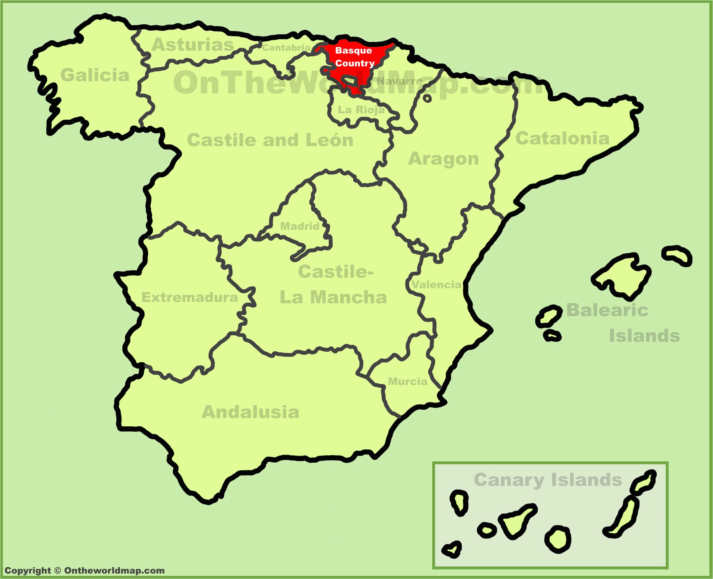 Map Of Spain Basque Region Basques Map and Travel Information Download Free Basques Map