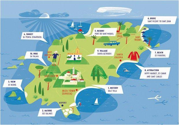 Map Of Spain Beaches Ibiza Map Ibiza In 2019 Ibiza Ibiza Spanje En Vakantie