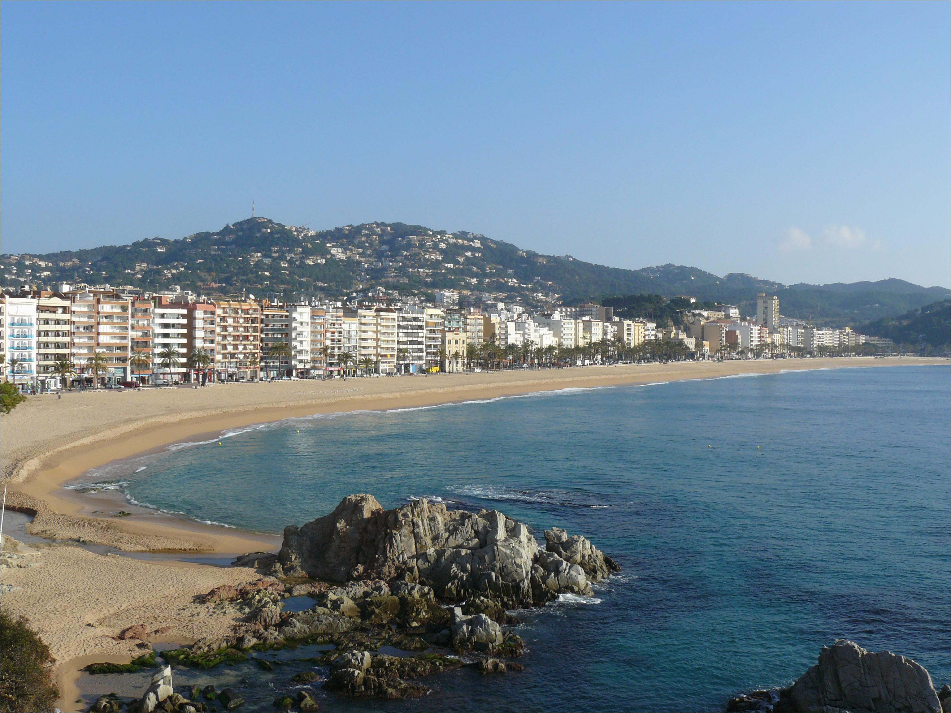 Map Of tossa De Mar Spain Lloret De Mar Wikipedia