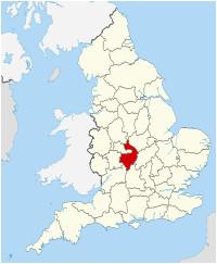 Map Of Warwick England Warwickshire Wikipedia