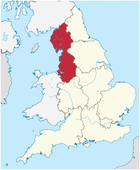 Map Of West Country England north West England Wikipedia