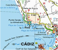 Map Rota Spain 44 Best Rota Spain Images In 2017 Destinations Places to