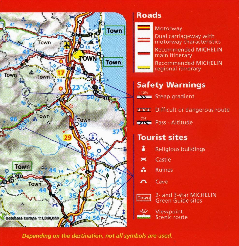 Michelin Road Maps Spain Michelin Spain Portugal Map 734 Books Gimdes org