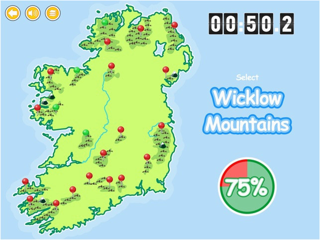 Mountains Of Ireland Map Know Your Ireland