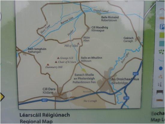 Newbridge Ireland Map Map Of Local areas Around the Fen Picture Of Pollardstown Fen