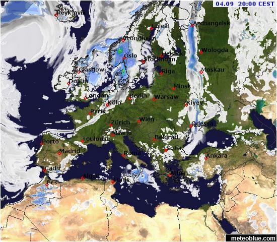Northern Ireland Weather Map Weather Maps Europe Meteoblue