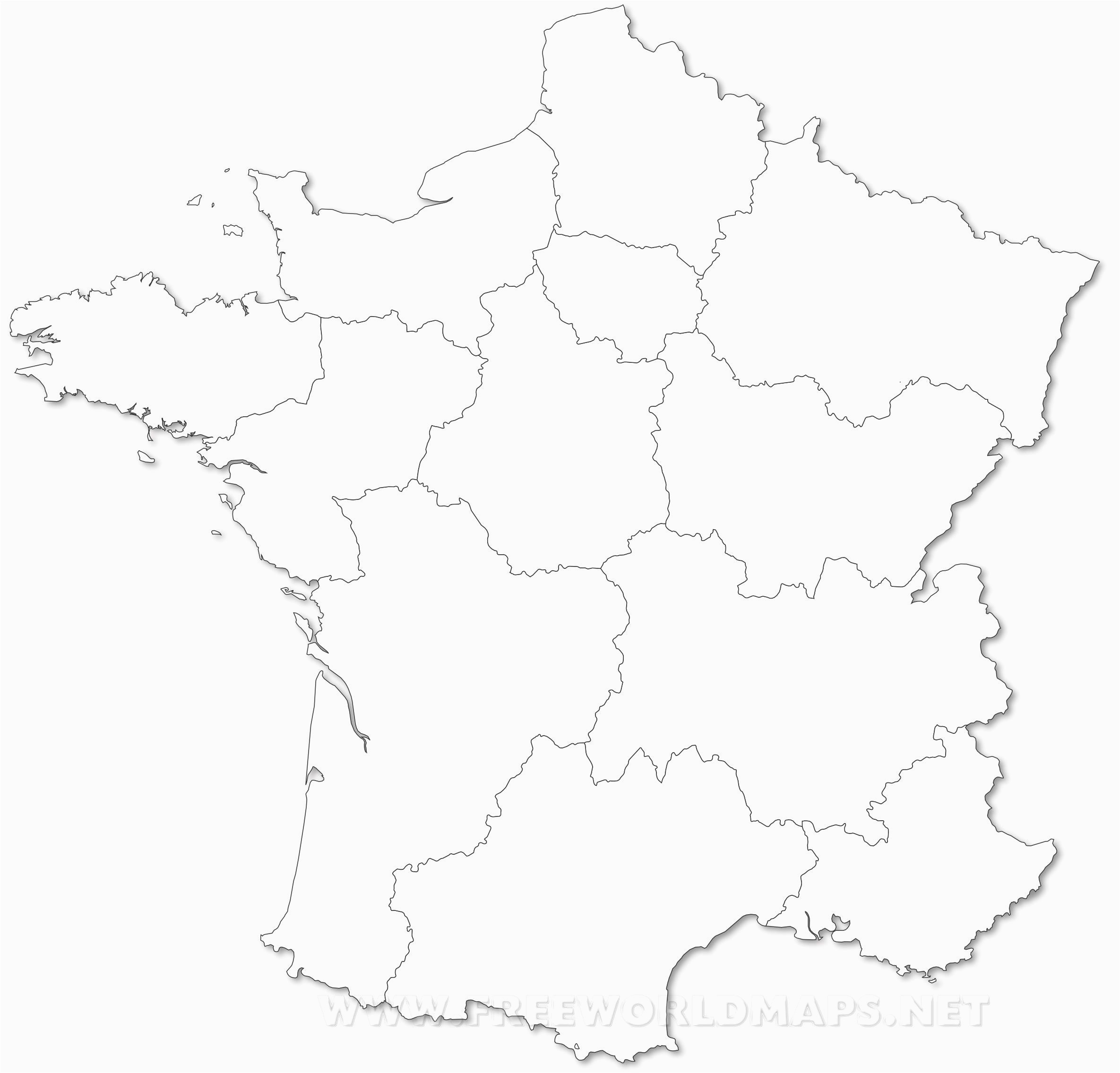 Political Maps Of France New Political Map Of France Bressiemusic