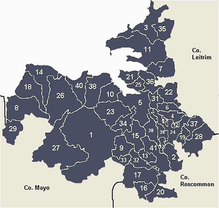 Sligo Map Of Ireland County Sligo Main Page