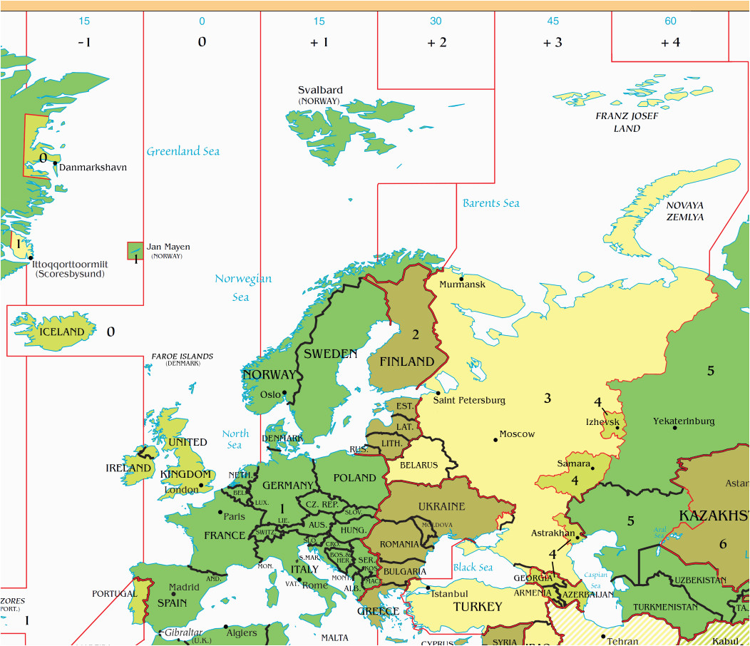 Spain Time Zone Map Phone Location A Maps 2019