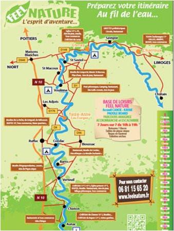 Taize France Map Preparez Votre Itineraire Au Fil De La Charente Picture