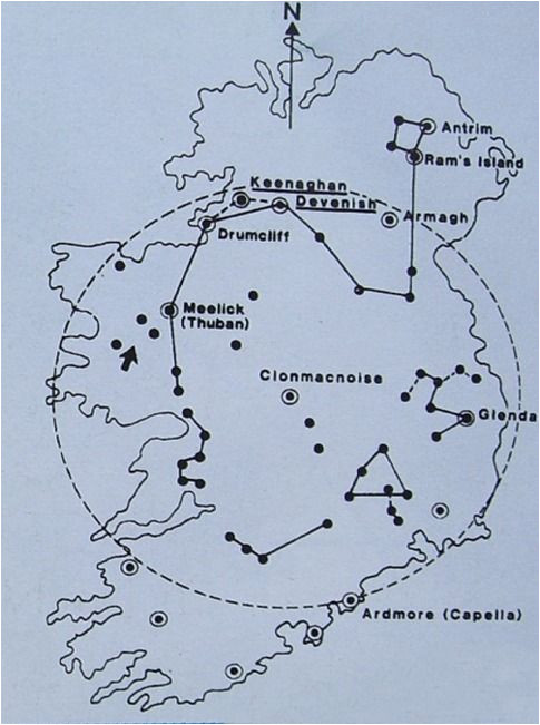 Tara Ireland Map Callahan Found that All the Round towers Were Made Of Paramagnetic