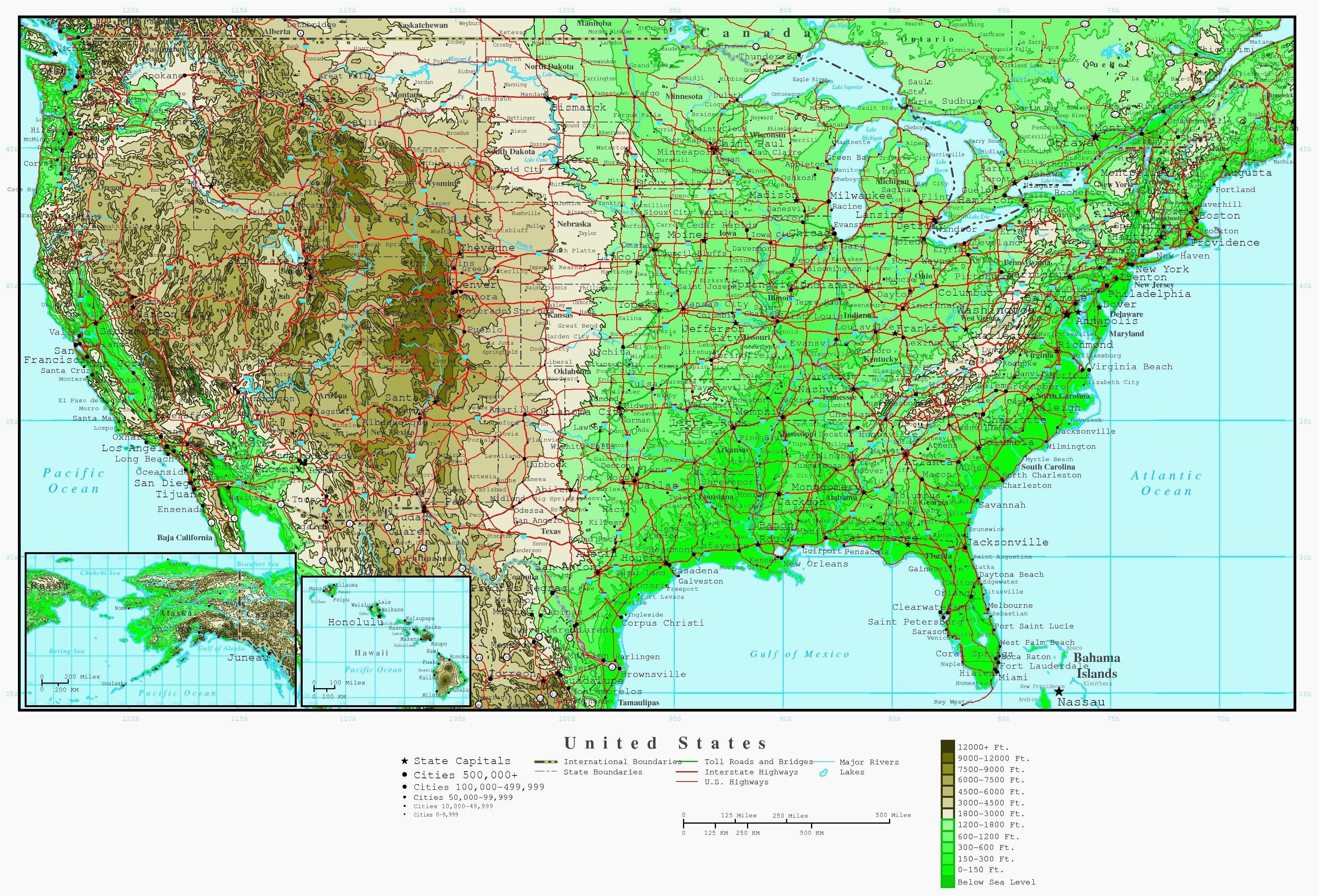 Terrain Map Of Canada Elevation Map Of Alabama Us Elevation Road Map Fresh Us Terrain Map