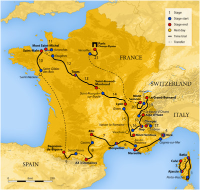 Tour De France Stage 4 Map 2013 tour De France Wikipedia