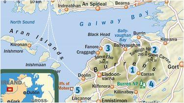 Where is Doolin Ireland On the Map Irland Wandern In Der Karstlandschaft Burren Reiseinfos Outdoor